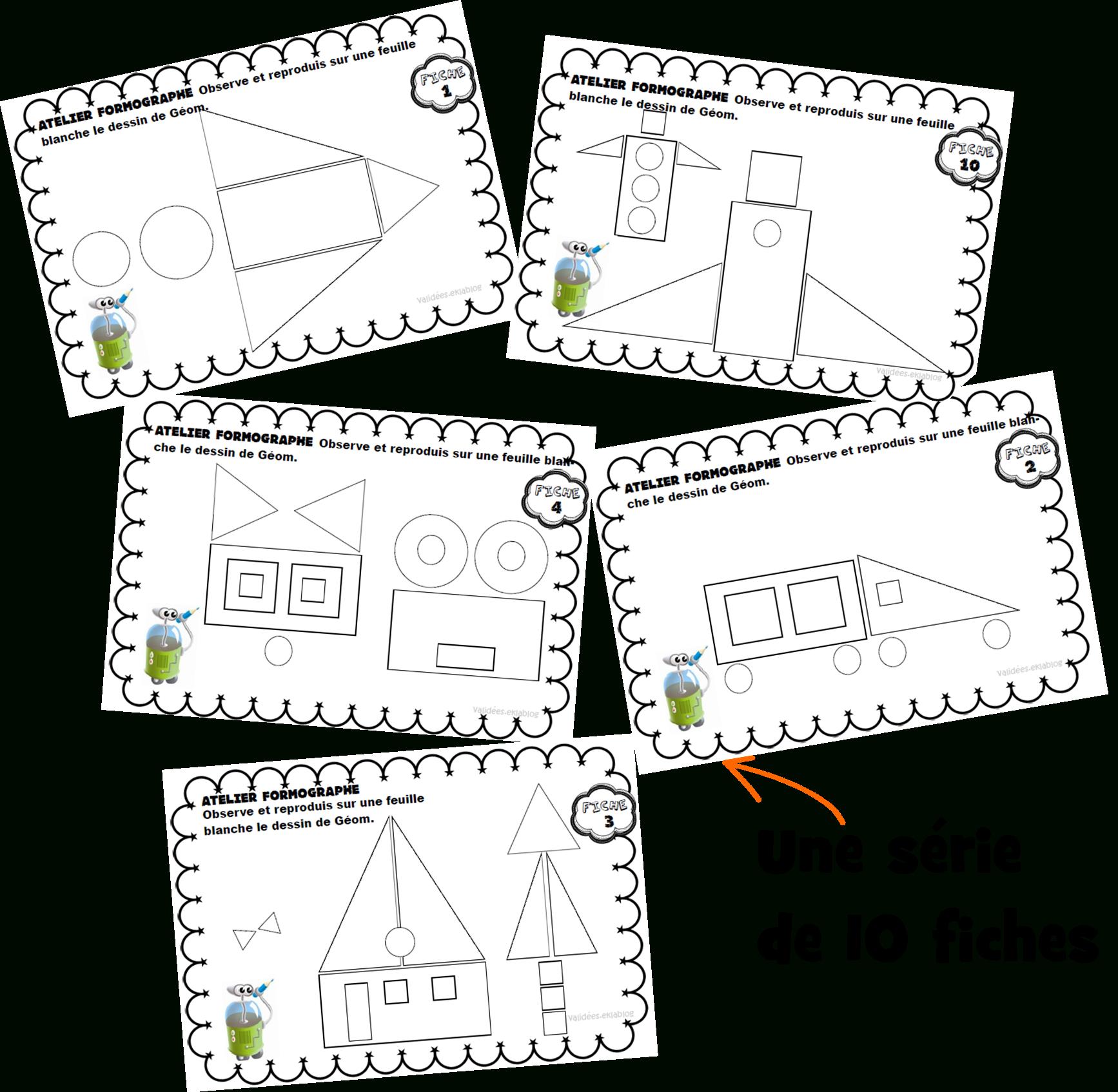 Atelier Formographe - Géométrie | Géométrie Ce1, Géométrie destiné Dessin Géométrique Ce2