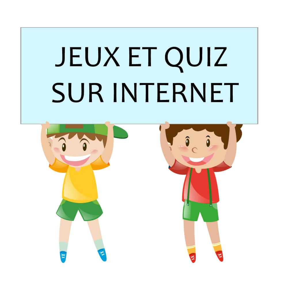 """Atelier """"internet, Je Suis Maître Du Jeu"""" - Tous Au Web dedans Quizz Enfant"""