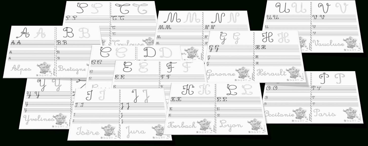 Ateliers Écriture Des Majuscules • Recreatisse intérieur Écriture Des Lettres Majuscules