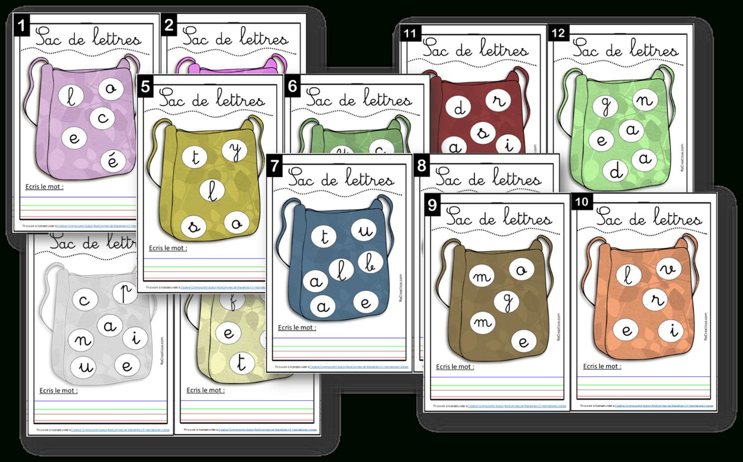 Ateliers : Jeux Avec Les Lettres • Recreatisse à Mot Avec Lettres Mélangées