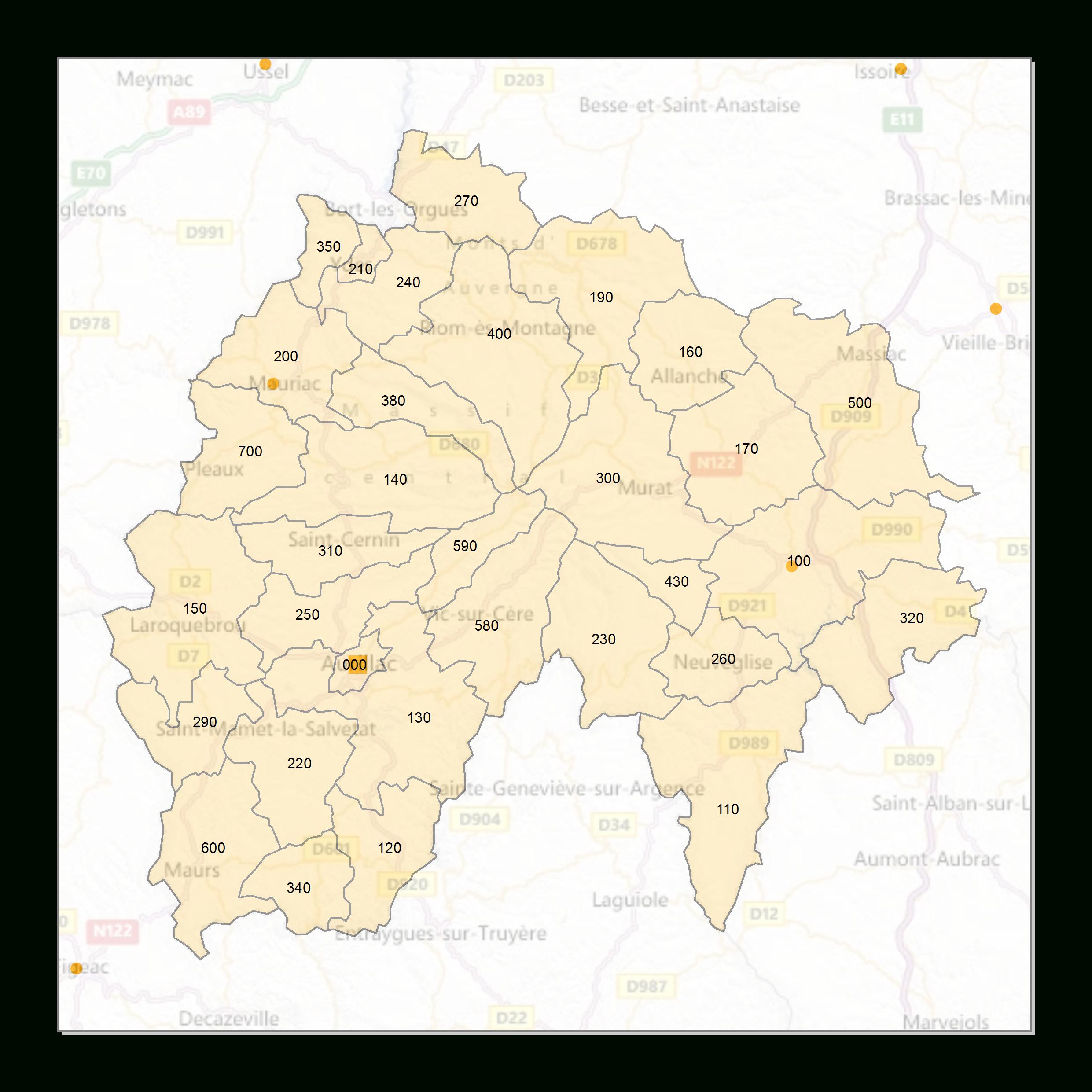 Atlas Des Codes Postaux - Cartes Des Départements De France intérieur Département 57 Carte