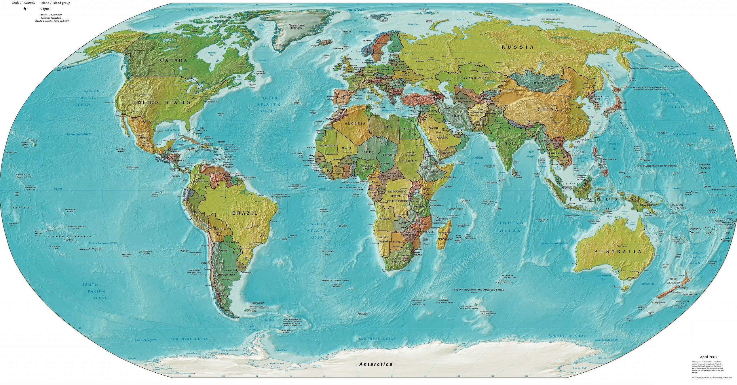 Atlas Monde : Cartes Et Rmations Sur Les Pays destiné Carte Du Monde En Ligne