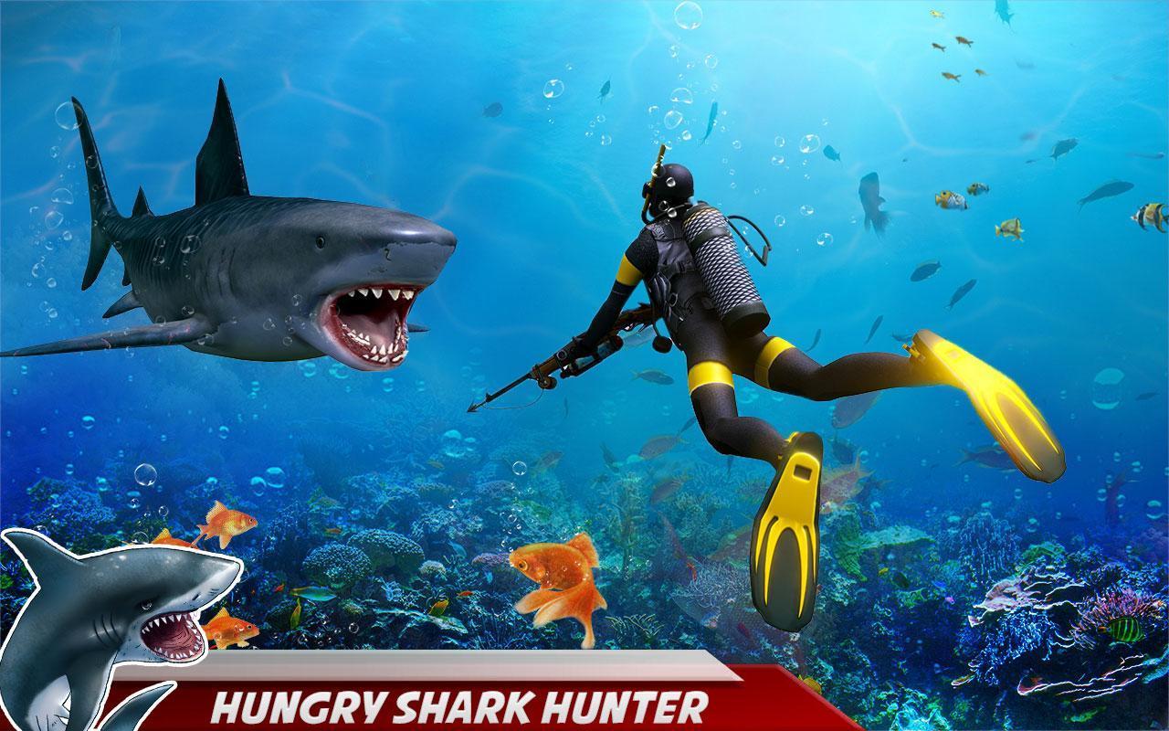 Attaque De Requin En Colère: Jeux Chasse Haute Mer Pour pour Requin Jeux Gratuit