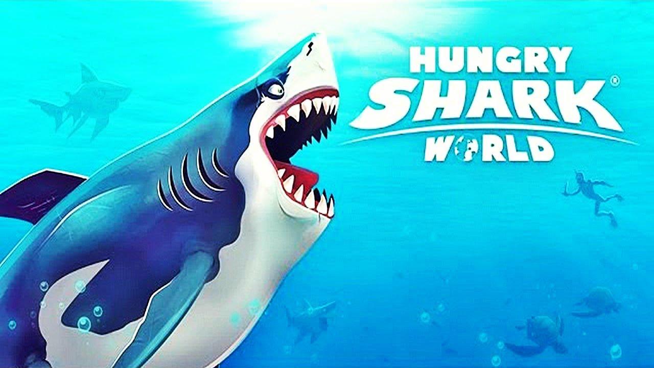Attaque De Requin ! | Hungry Shark World destiné Tous Les Jeux De Requin