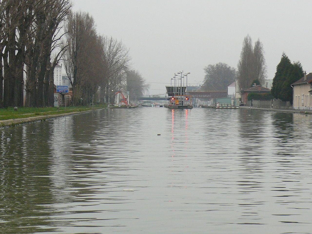 Aubervilliers Canal De Saint Denis Écluse Numéro 2 | La à Numero Des Departements Francais