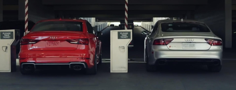 Audi Dévoile Une Course Poursuite Folle Pour Noël concernant Cauchemar Poursuite
