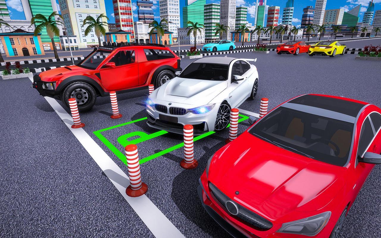 Auto Voiture Parking Jeu - 3D Moderne Voiture Jeux Pour pour Jeux De 4 4 Voiture