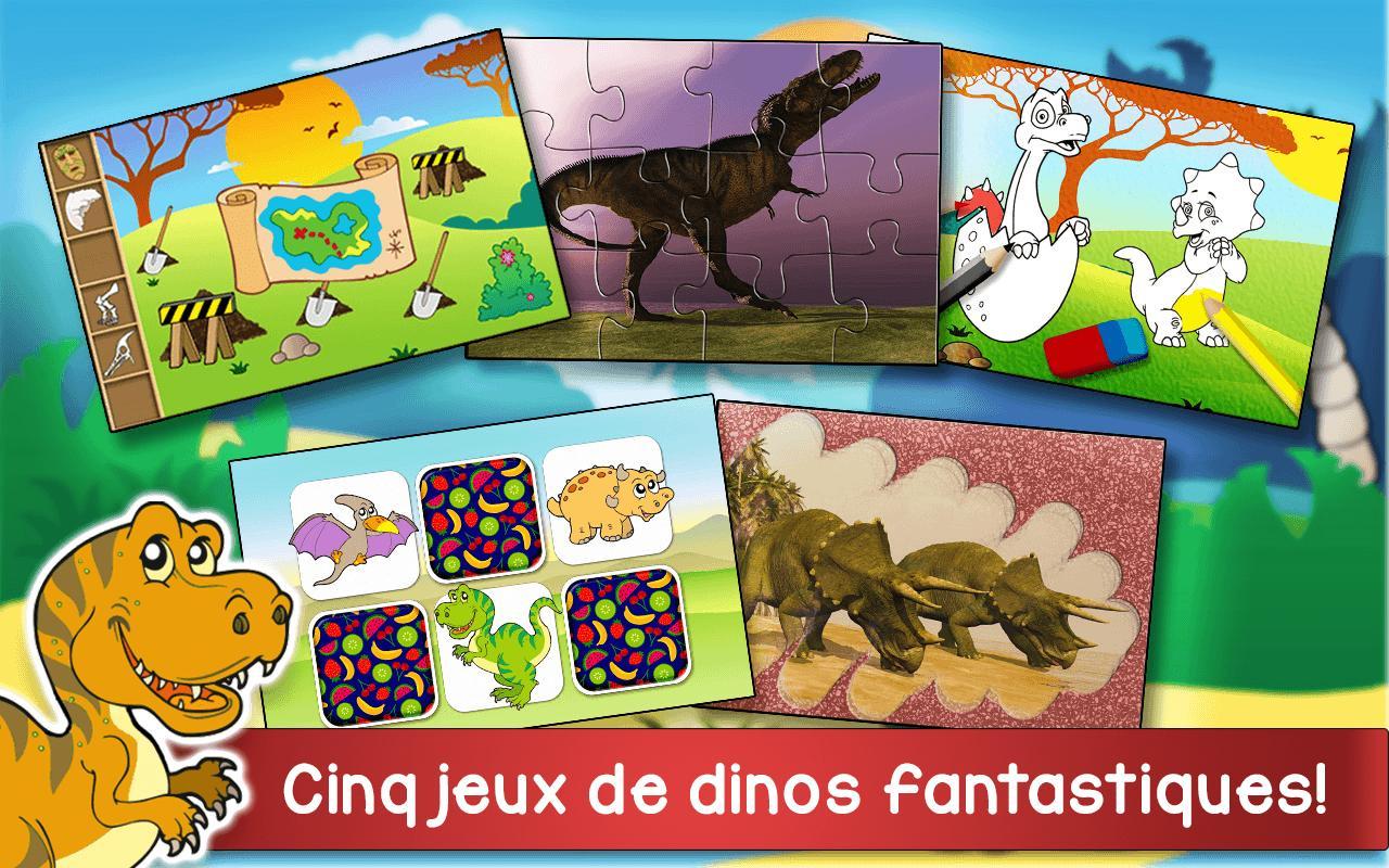 Aventure Dinosaures - Jeux Gratuit Pour Enfants Pour Android concernant Jeux De Enfan Gratuit