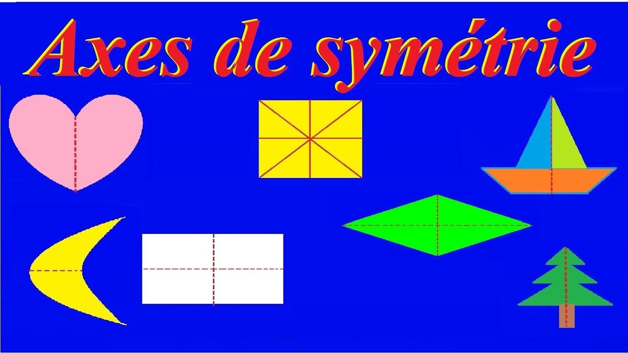 Axe De Symétrie Axiale Et Centrale : Bases Maths Ce2 Cm1 Cm2 6Ème 5Ème tout Symétrie Ce1 Ce2