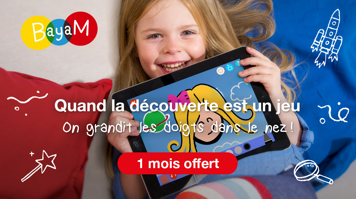 Bayam La Première Expérience Numérique Pour Les Enfants De 3 encequiconcerne Jeux Pour Enfant De 11 Ans