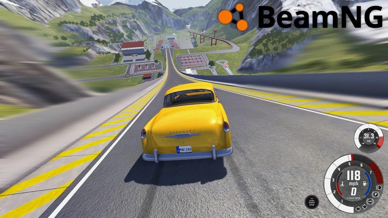 Beamng Epic Crash, Accidents And Fails intérieur Jeux De Accident De Voiture