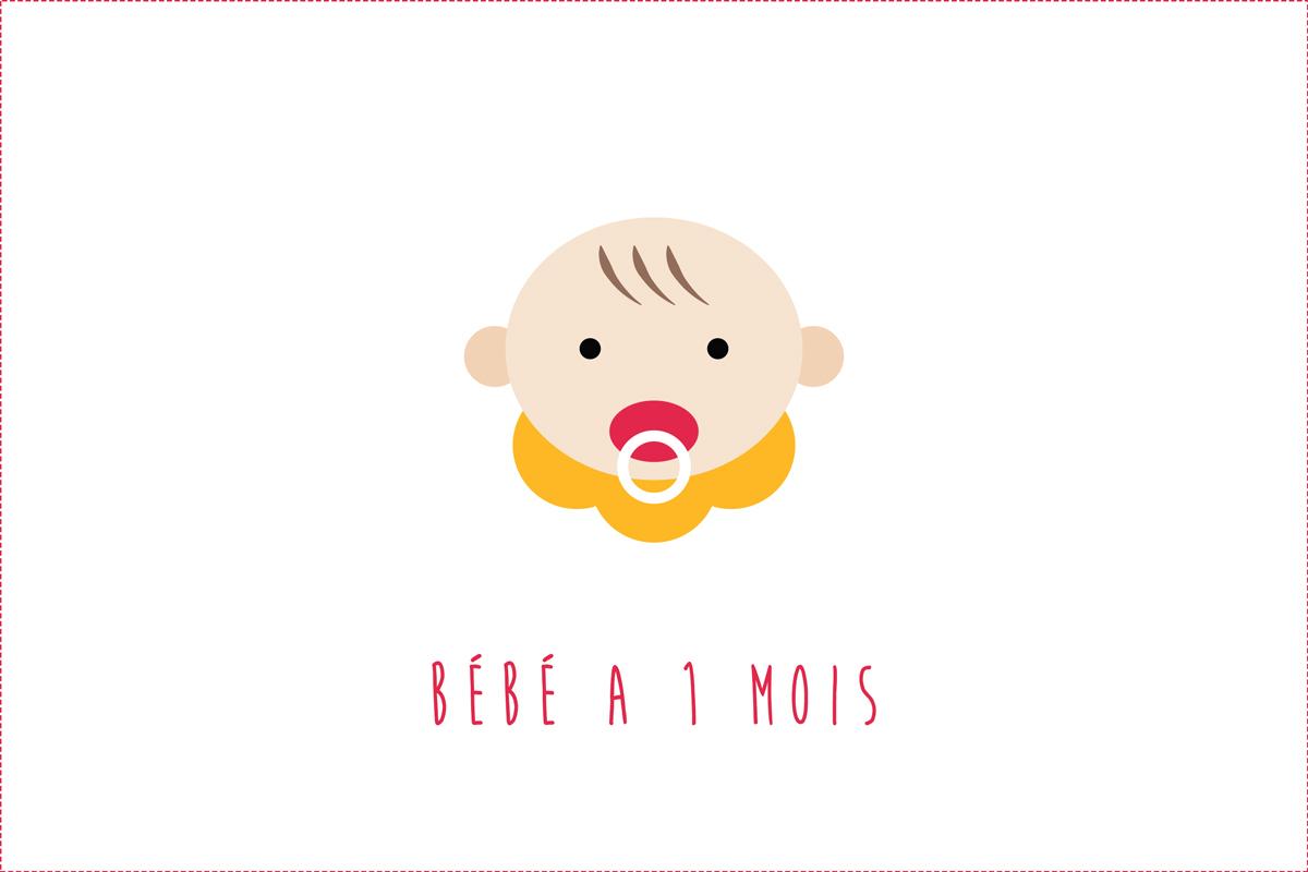 Bébé A 1 Mois : Progrès, Éveil, Développement | Cooking encequiconcerne Bebe 6 Mois Eveil