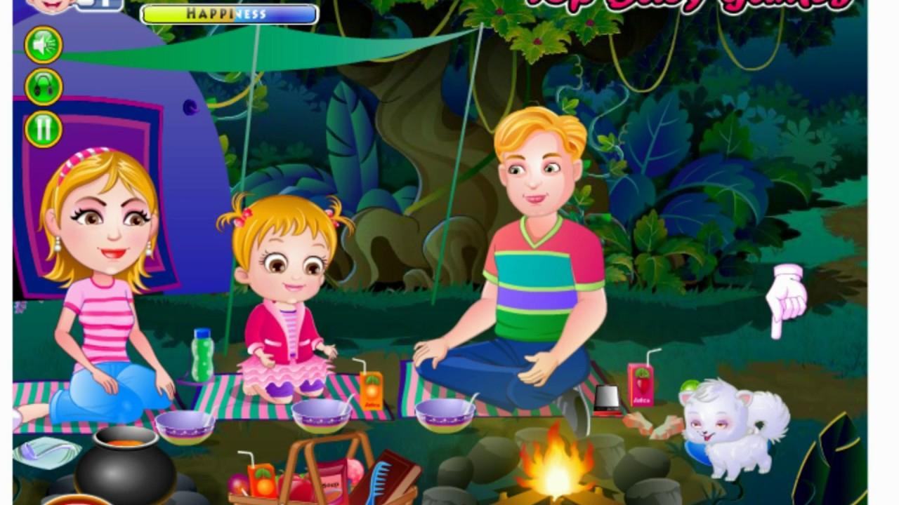 Bébé Dans La Jungle Des Animaux   Jeux De Fille   Jeux avec Jeux De Fille Gratuit Animaux