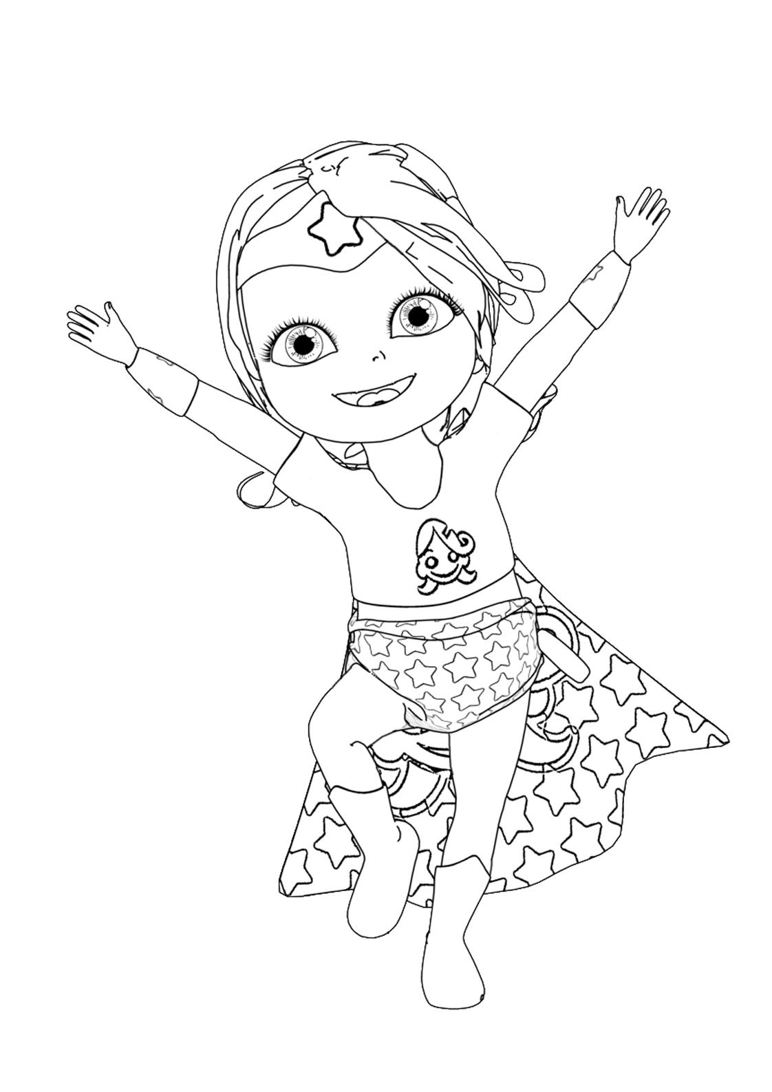 Bébé Lilly – Au Pays Des Rêves avec Jeux De Bébé Lilly