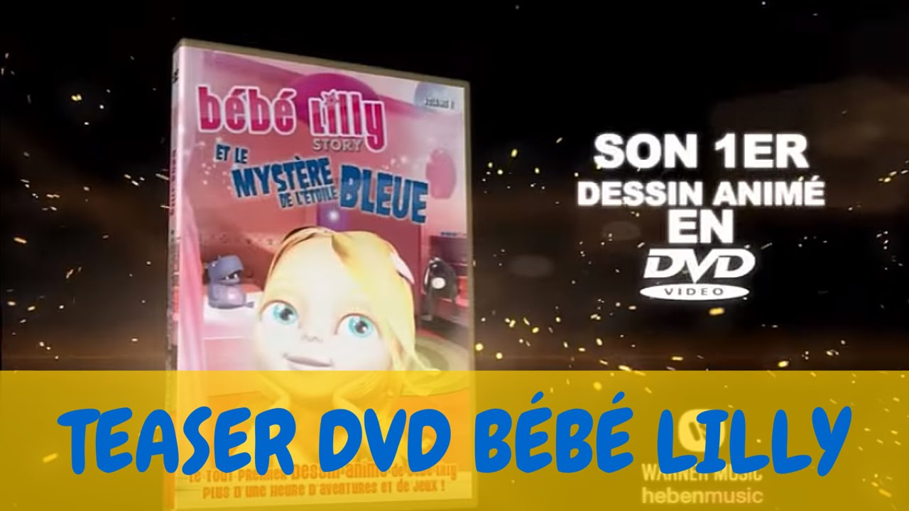 Bébé Lilly - Teaser Dvd - Le Mystère De L'etoile Bleue serapportantà Jeux De Bébé Lilly