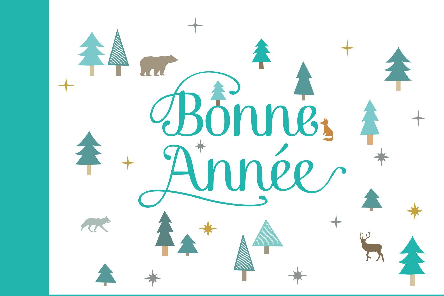 Belle Année 2018 À Tous! - Au Coin Nature avec Carte De Bonne Année Gratuite A Imprimer