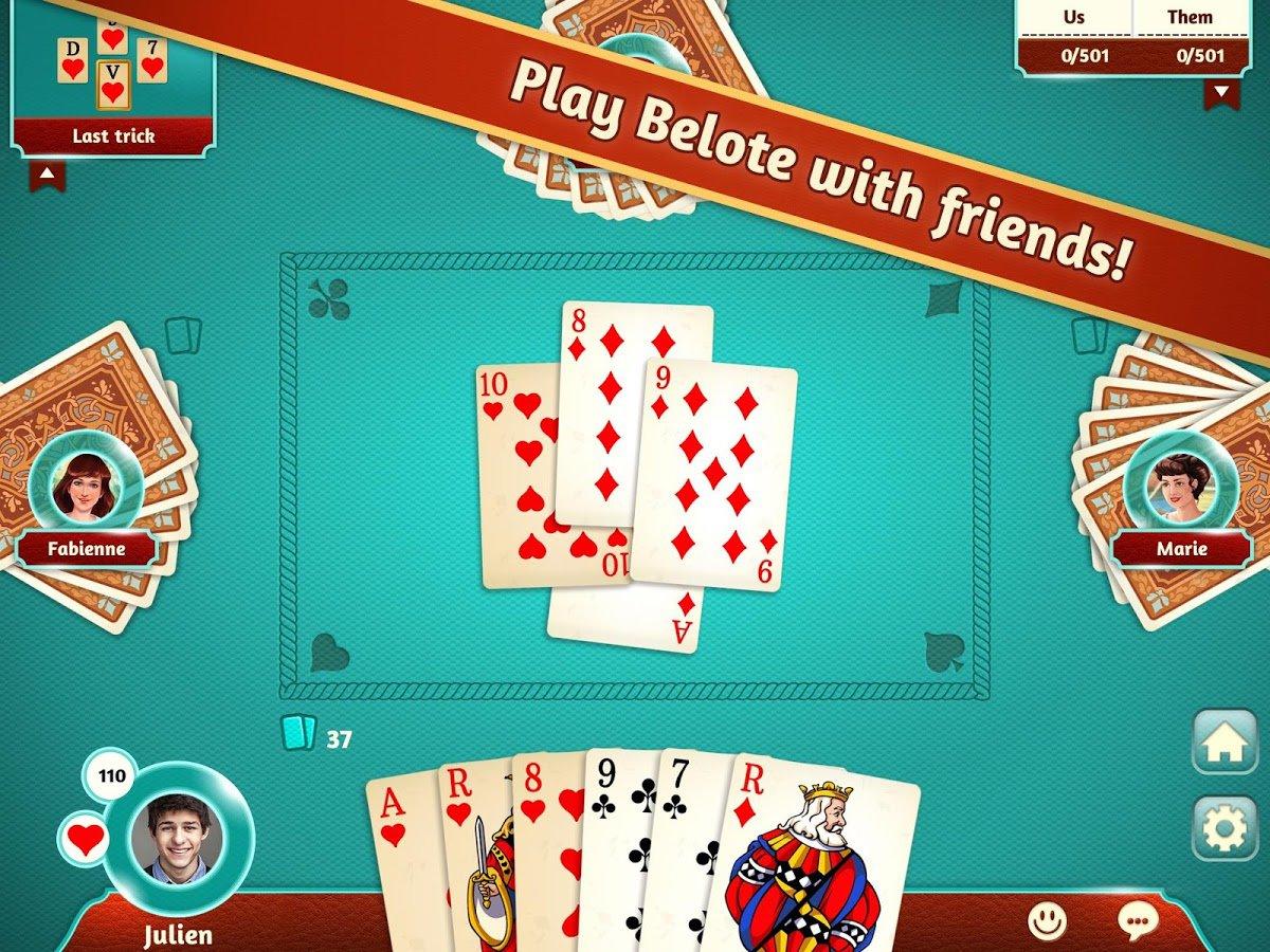 Belote 1.0.26 - Télécharger Pour Android Apk Gratuitement avec Jeux De Cartes Gratuits À Télécharger En Français