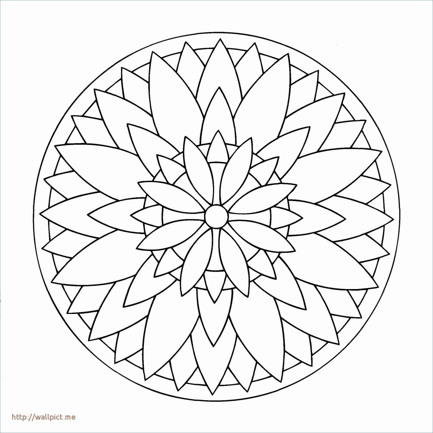 Best Of Coloriage De Mandala A Colorier Sur L Ordinateur destiné Dessin À Colorier Sur L Ordinateur