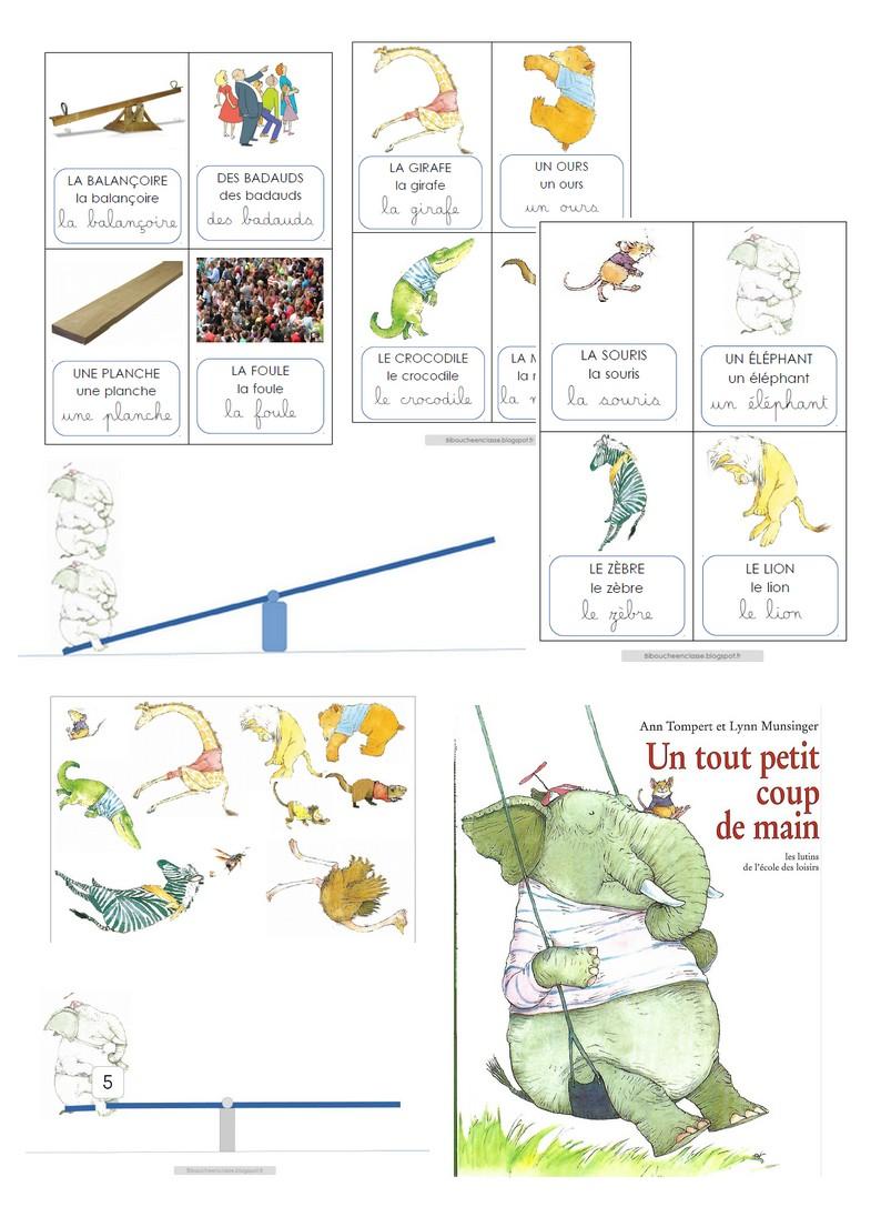 """Bibouche En Classe : """"un Tout Petit Coup De Main"""" Activités tout Site Pour Tout Petit"""