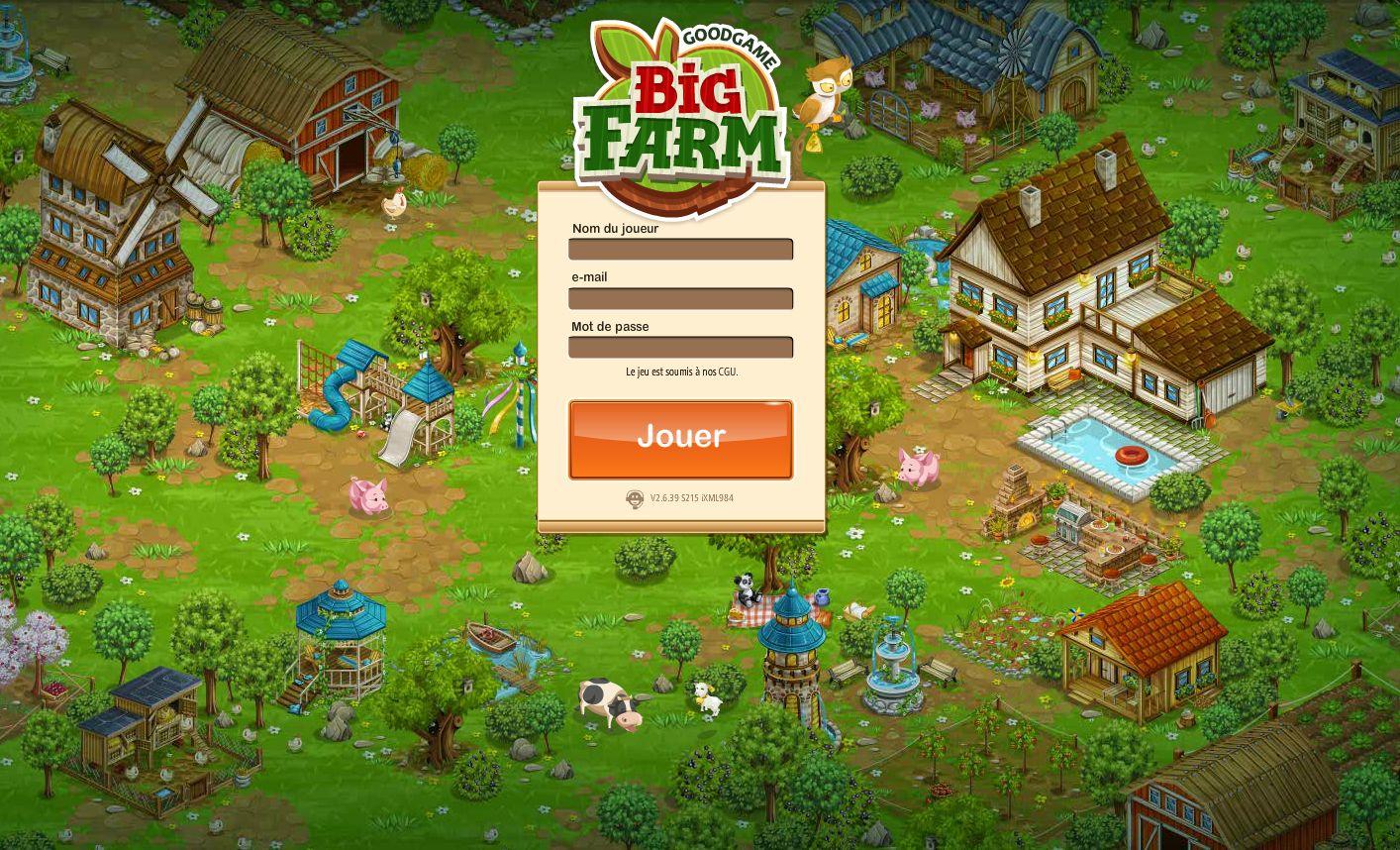Big Farm - Aperçu - Game-Guide à Jeux En Ligne De Ferme