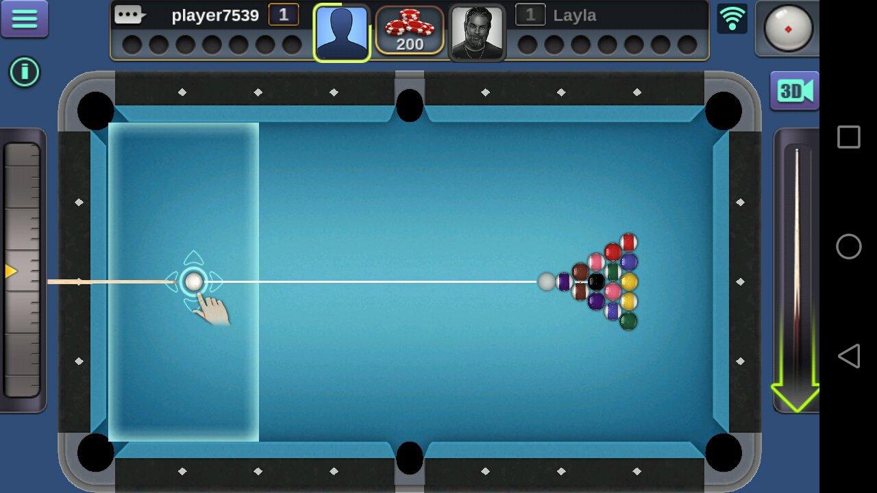Billard 3D 2.2.2.3 - Télécharger Pour Android Apk Gratuitement pour Jeux Billard En Ligne Gratuit