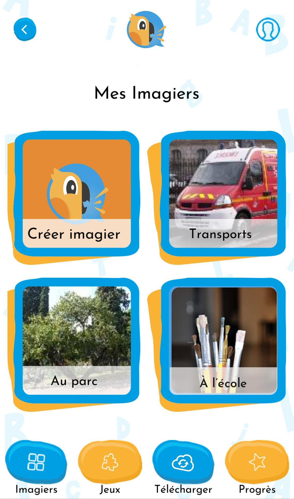 Blabook For Android - Apk Download concernant Imagier Ecole