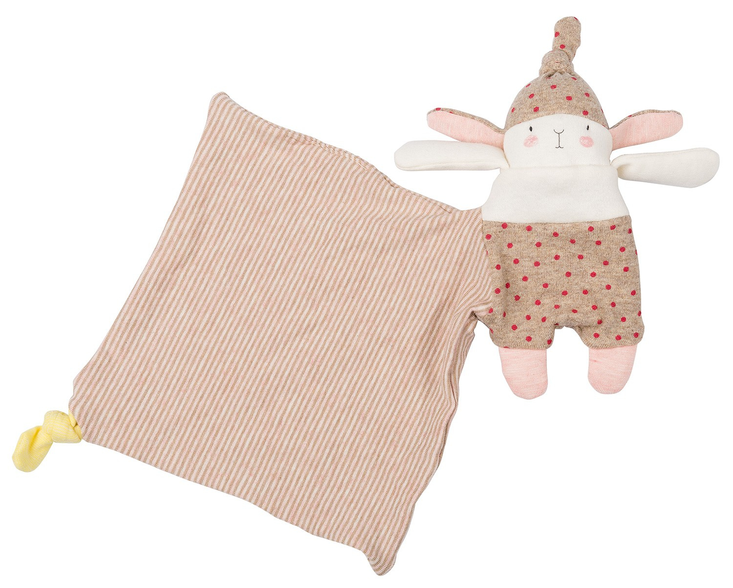 Blankie Lulu The Rabbit Les Petits Dodos Moulin Roty destiné Lapin Lulu