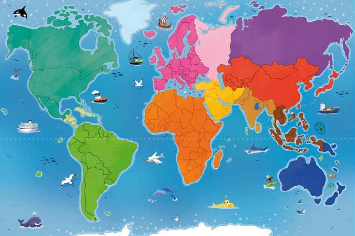 Blog Archive » Mon Premier Atlas A Jouer concernant Planisphère Enfant