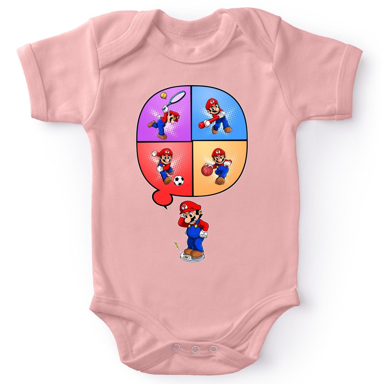 Body Bébé (Filles) Super Mario Parodique Mario Et Wii Fit : Régime  Virtuel (Parodie Super Mario) pour Jeux De Bébé Virtuel