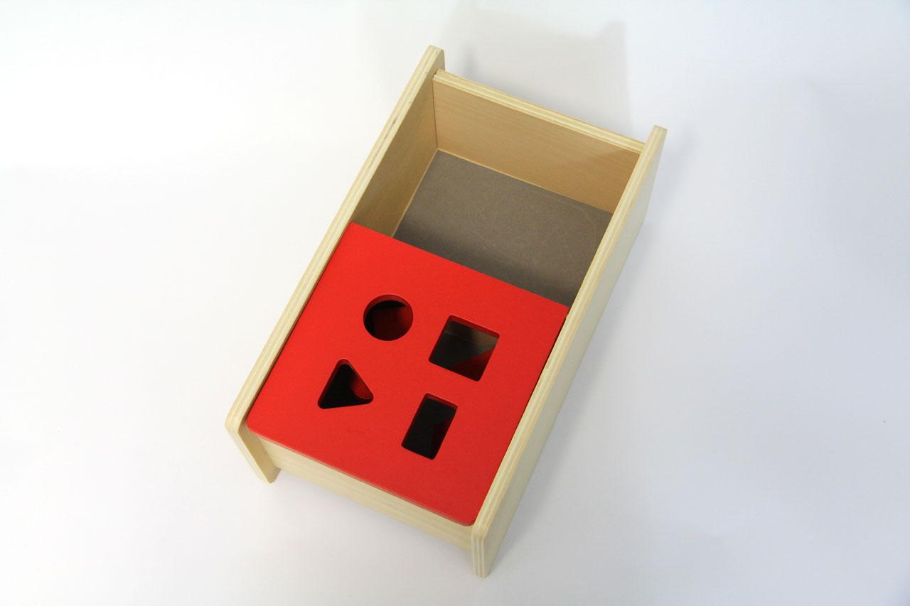 Boîte À Forme À Couvercle Rabattable : Les Solides Géométriques avec Boite À Forme Montessori