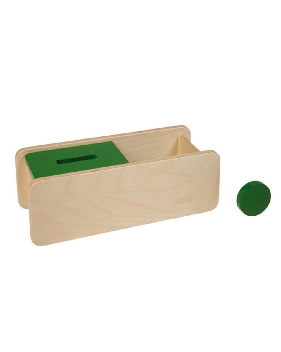 Boite À Forme Jeton - Montessori serapportantà Boite À Forme Montessori