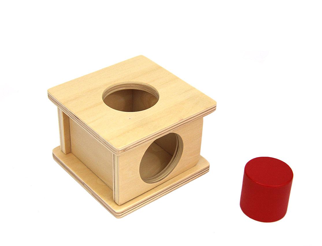 Boîte À Forme : Le Cylindre avec Boite À Forme Montessori