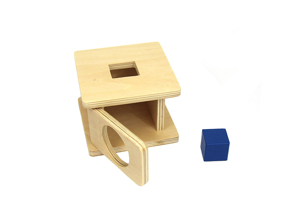Boîte À Forme : Le Pavé intérieur Boite À Forme Montessori