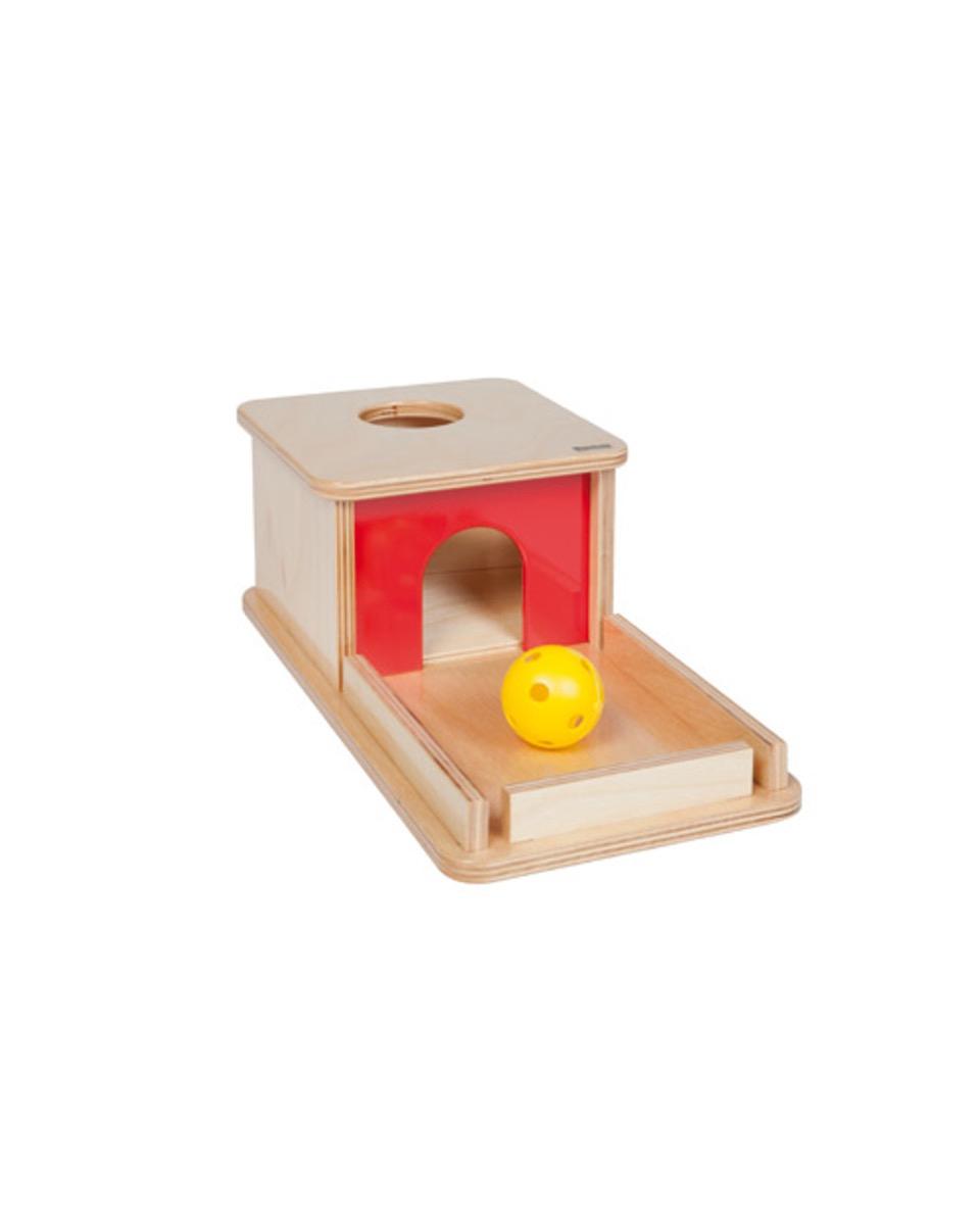 Boite À Forme Sphère - Montessori dedans Boite À Forme Montessori