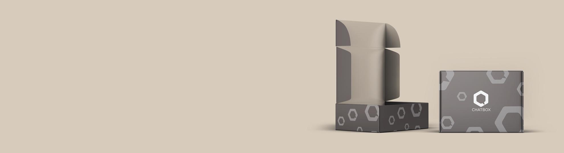 Boite Carton À Rabat, Impression Packaging Personnalisé destiné Boite À Personnaliser