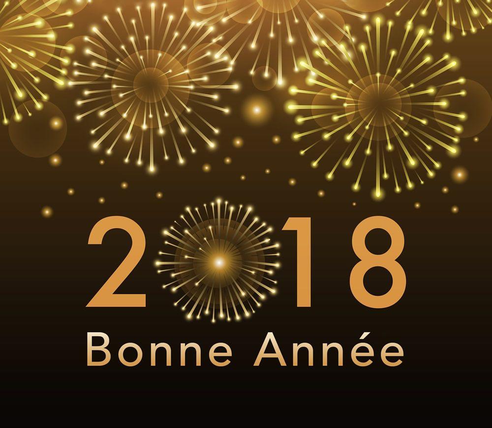 Bonne Année 2018 Image 1   Bonne Année, Souhaits Pour La encequiconcerne Carte Nouvel An Gratuite