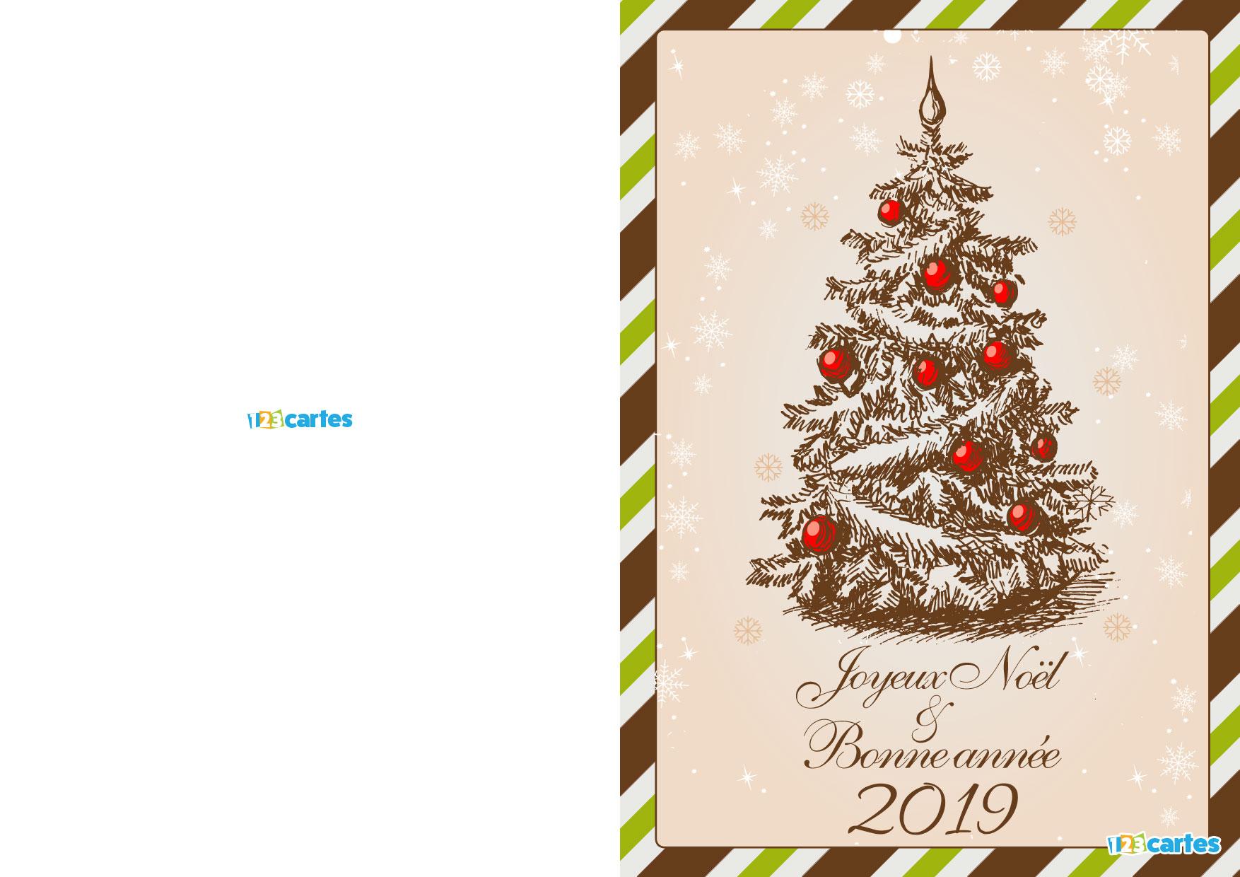 Bonne Année 2019: Carte Bonne Annee 2019 A Imprimer Gratuite intérieur Carte De Bonne Année Gratuite A Imprimer