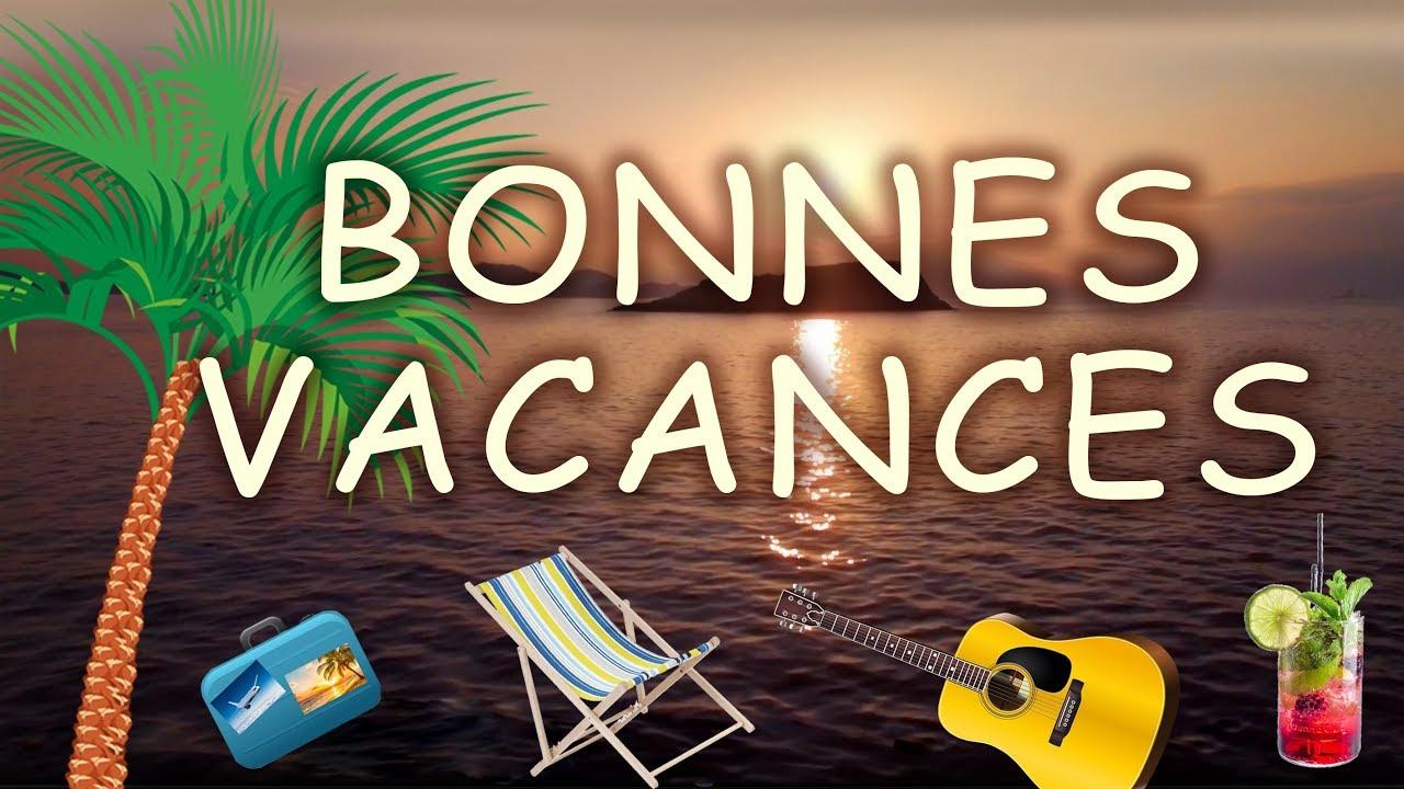 Bonnes Vacances À Tous ! Carte Virtuelle Bonnes Vacances D'été. pour Images Bonnes Vacances Gratuites