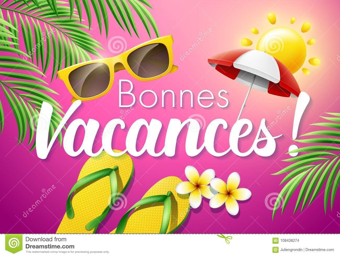 Bonnes Vacances Stock Illustrations – 8 Bonnes Vacances pour Images Bonnes Vacances Gratuites