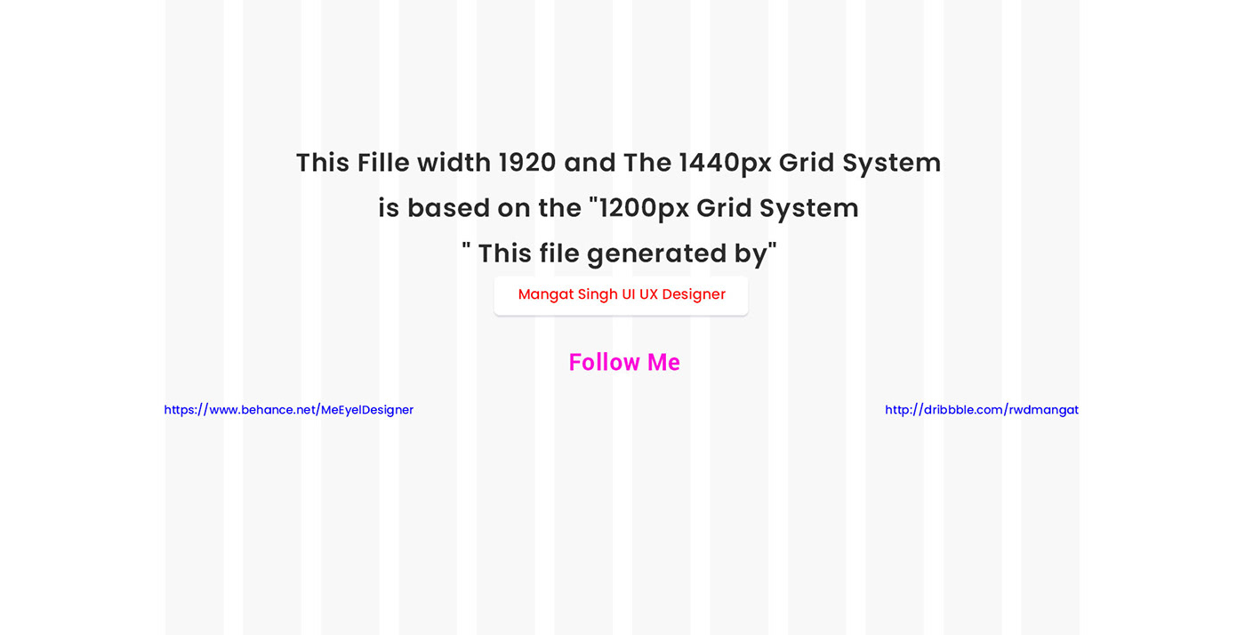 Bootstrap 4 Grid System Free Download Psd On Behance à Ux De Fille