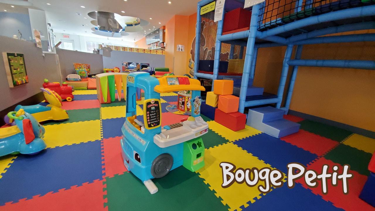 Bouge Petit - Café Et Centre D'activités Pour Parents Avec intérieur Jeux De Bébé Virtuel