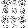 Bouquet De Printemps | Coloriage Printemps, Coloriage Fleur tout Fleurs À Découper
