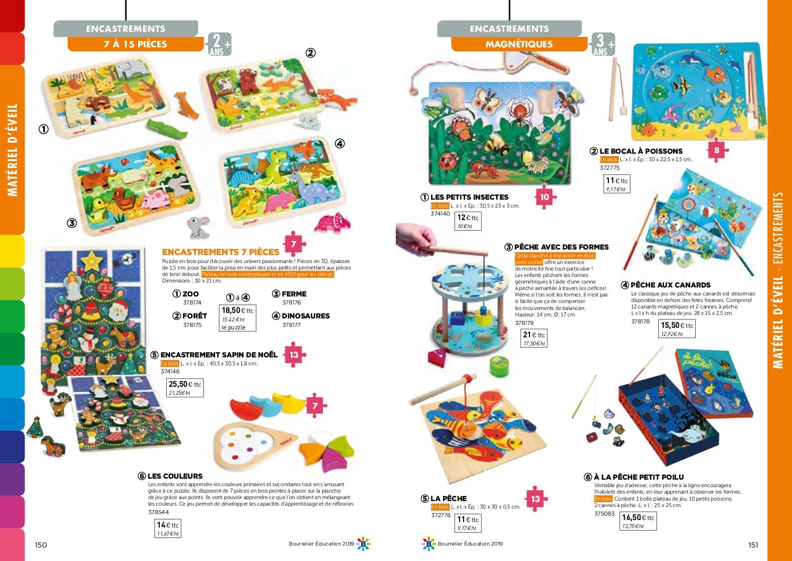 Bourrelier 2019 Catalogue Élémre Web Pages 2 283 serapportantà Puzzle En Ligne Facile