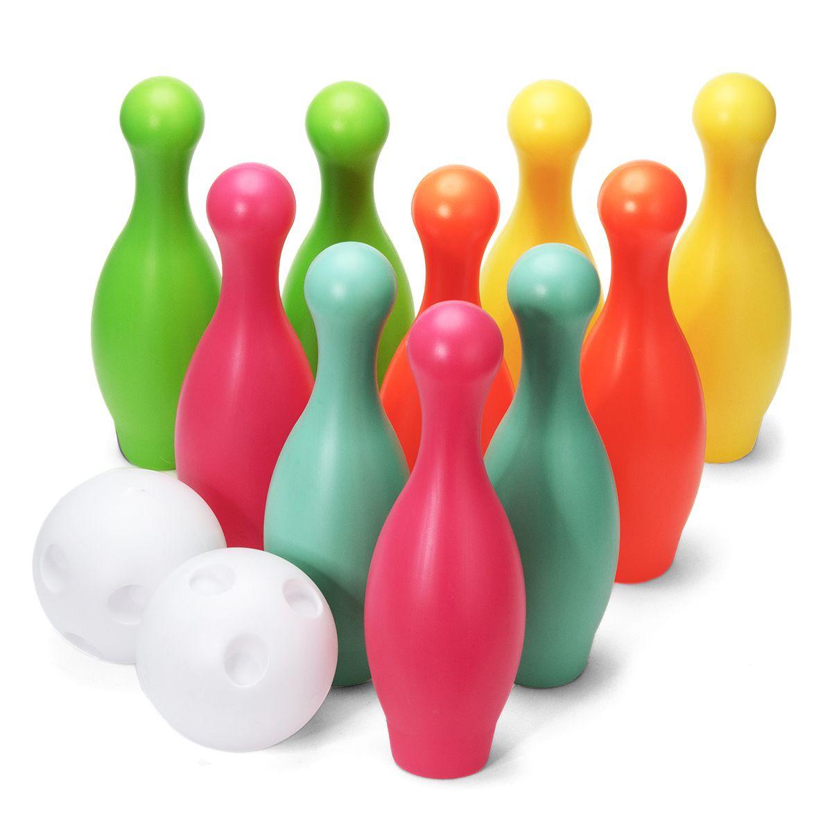 Bowling 10 Quilles Et 2 Boules - Jeux De Tir Et Pistolets pour Jeu De Quilles Enfant