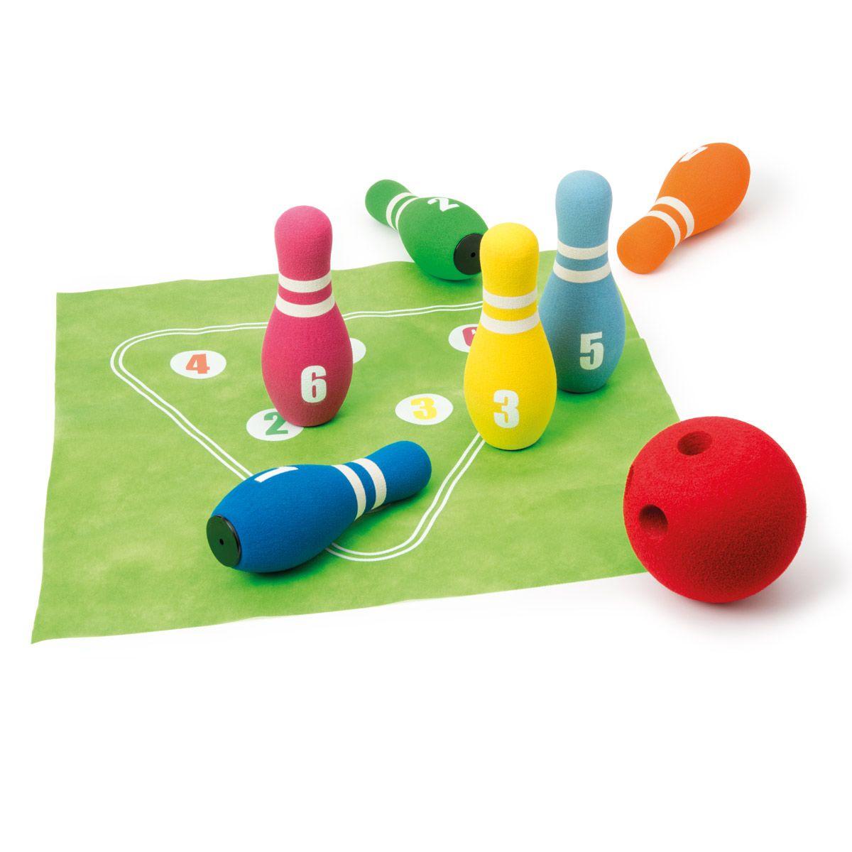 Bowling En Mousse Energybul Création Oxybul   Jeux De avec Jeu De Quilles Enfant