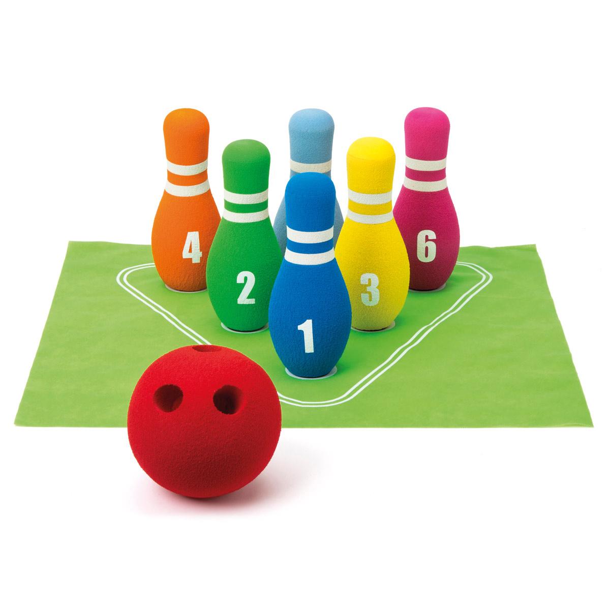 Bowling En Mousse intérieur Jeu De Quilles Enfant
