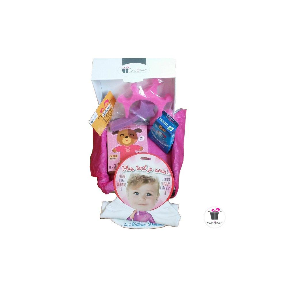 Box De Jeux Pour Bébé Fille - Box Cadeaux Prêtes À Offrir serapportantà Jeu De Bebe Pour Fille