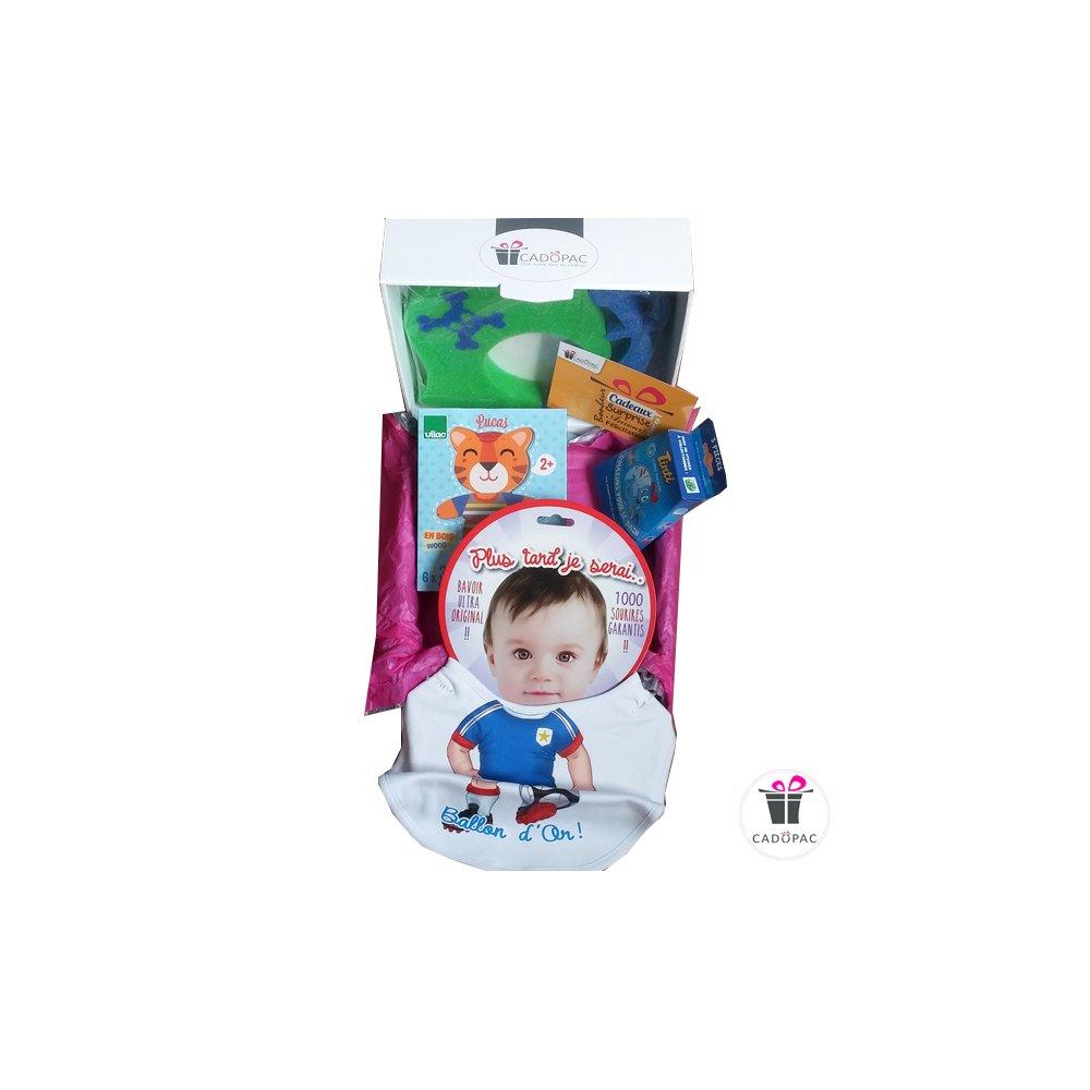 Box De Jeux Pour Bébé Garçon - Box Prêtes À Offrir - Cadopac tout Jeux De Bébé Garçon