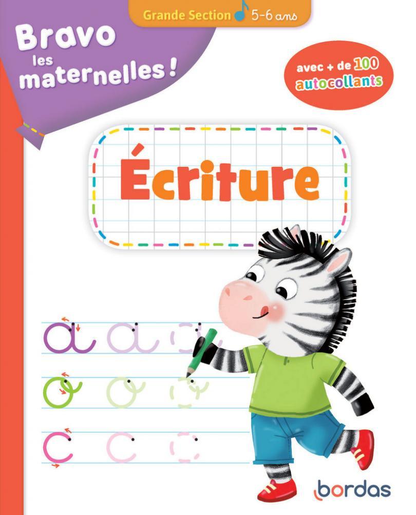 Bravo Les Maternelles - Ecriture Grande Section + encequiconcerne Cahier D Écriture Maternelle