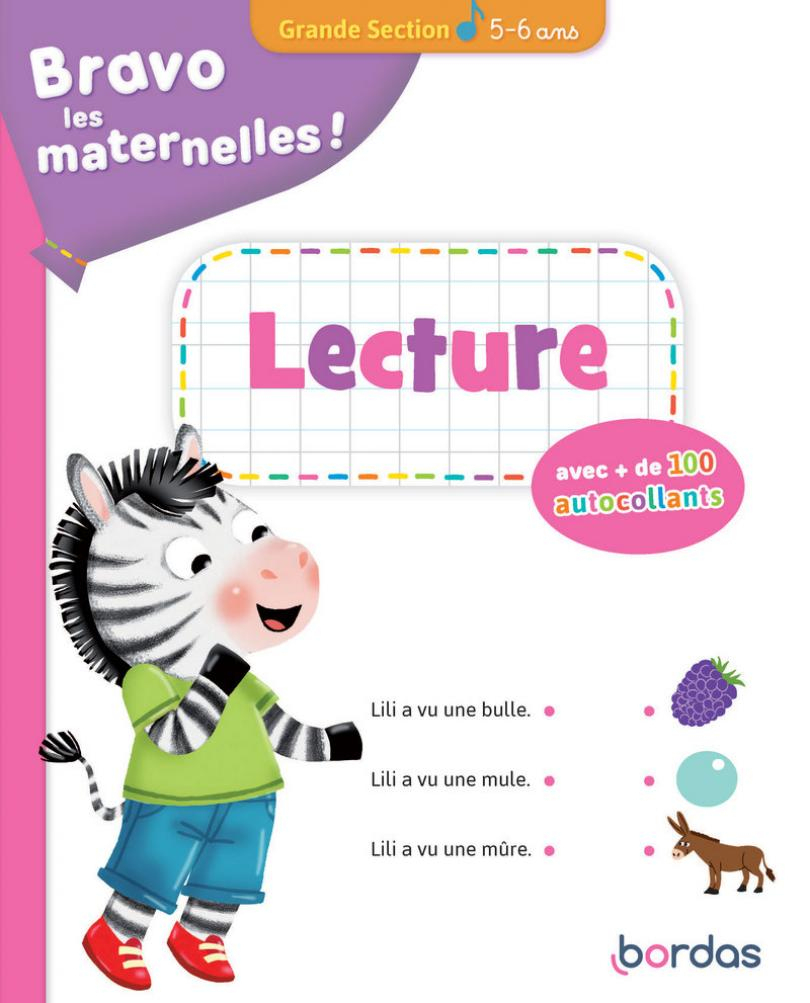 Bravo Les Maternelles - Lecture Grande Section + serapportantà Exercice De Lecture Maternelle Grande Section
